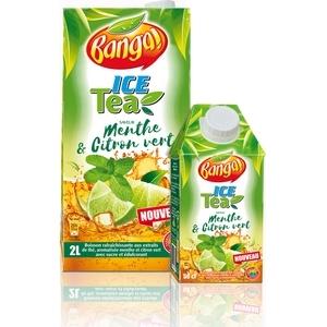 Banga ice tea menthe et citron vert 2l