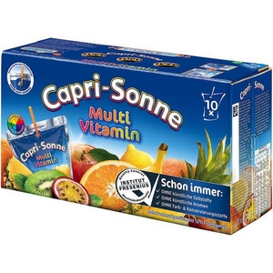 Capri-sonne multivitamine 10x20cl