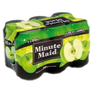 Minute maid pomme 6x33cl