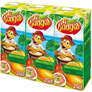 Banga jus multifruits 3x20cl