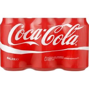 Coca-cola 6x33cl