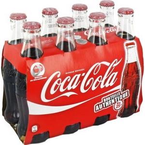 Coca-cola blle en verre 8x25cl