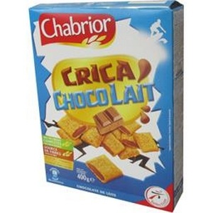Chabrior céréales crica chocolait 400g