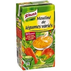 Knorr mouliné légumes variés brique 1l