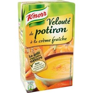 Knorr velouté potiron à la crème 1l