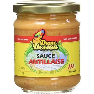 Dame besson sauce antillaise 37cl