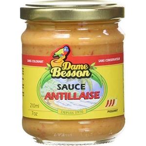 Dame besson sauce antillaise 370cl