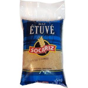 Riz Socariz bleu étuvé 5kg