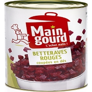 Maingourd betteraves cubes 1/2 400g