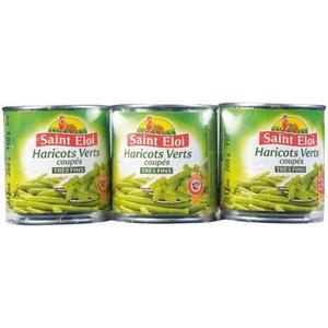 Saint éloi haricots verts très fins 3x330g