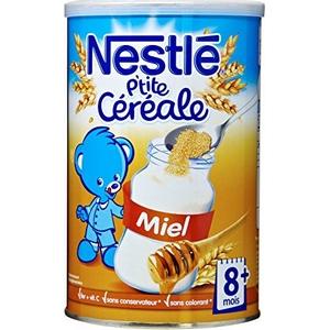 Nestlé p'tite céréale miel dès 6 mois 400g