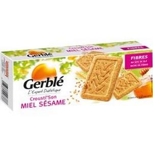 Gerblé biscuits miel sésame 210g