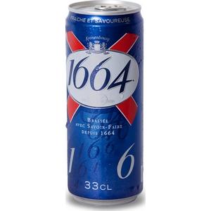 Bière kronenbourg 1664 50cl