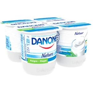 Danone nature 4x125g
