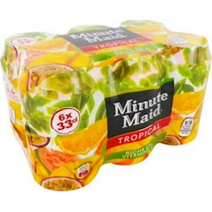 Minute Maid tropical 6x33cl