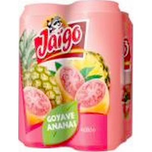 Jaïgo jus goyave ananas 4x50cl