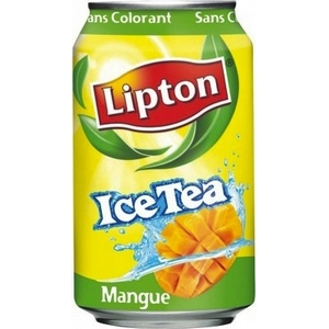 Lipton ice tea mangue 33cl