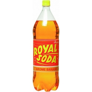 Royal soda banane 2l