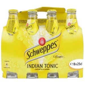 Schweppes tonic 8x25cl