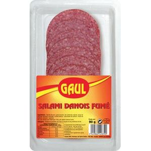 Gaul salami danois fumé 90g