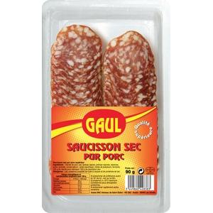 Gaul saucisson sec pur porc 90g