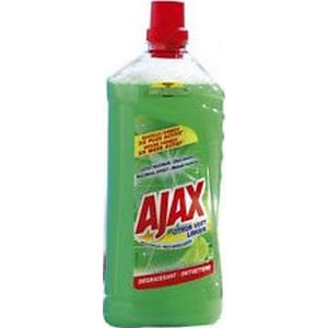 Ajax nettoyant sol citron vert 1l25