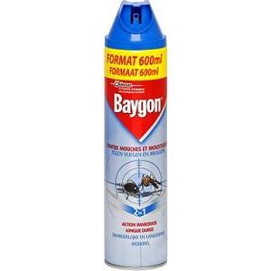 Baygon bleu volant 600ml