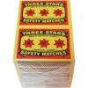 Allumette 3 étoiles lot de 10 paquets
