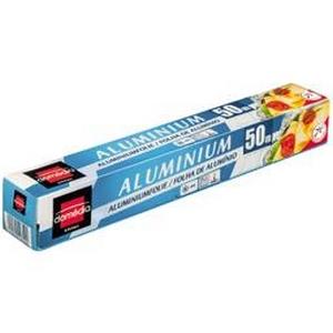 Papier aluminum domédia 50m