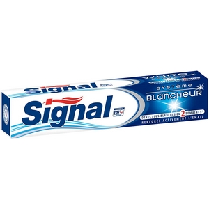 Dentifrice signal système blancheur 75ml