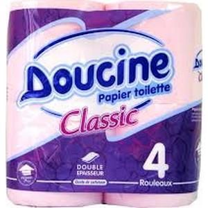 Papier toilette doucine 4 rlx