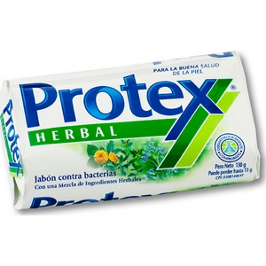 Savon de toilette protex herbal 90g