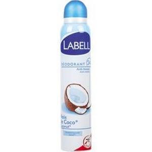 Labell déodorant féminin anti-trances noix de coco 200ml
