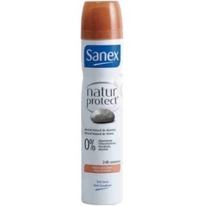 Déodorant féminin sanex n.p. peaux sensibles 24h 0% alu.para. alc. 200ml