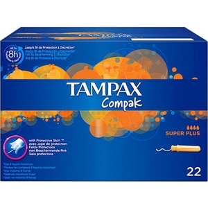 Protection hygiénique Tampax Compak 22 super plus