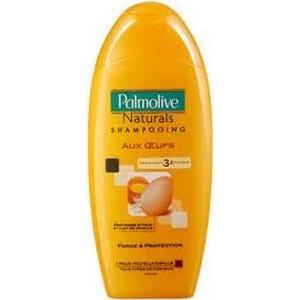 Shampooing palmolive cheveux secs vanille proteine d'œufs 380ml
