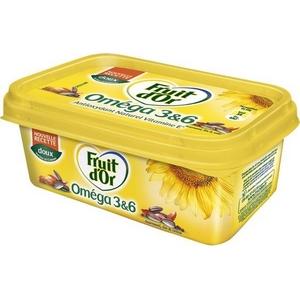 Fruit d'or margarine oméga 3 et 6 doux 250g