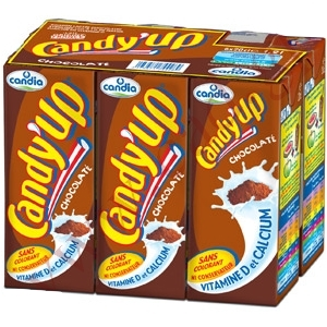 Candy up lait chocolat 6x20cl