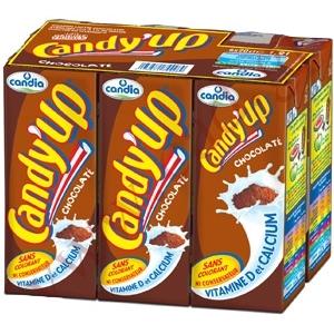 Candy up lait chocolat 6x20cl
