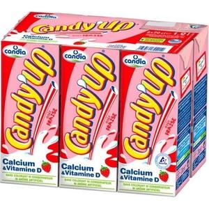 Candy up lait fraise 6x20cl