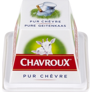 Fromage pur chèvre chavroux 150g