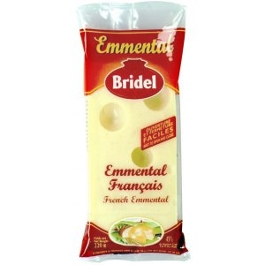 Bridel emmental portion de 220g