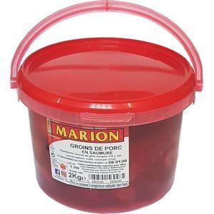 Groin Marion en saumure 2kg