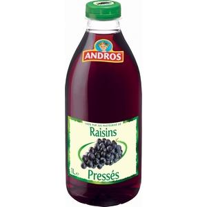 Andros jus de raisins presses 1l