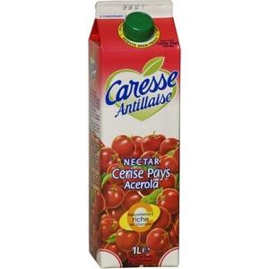Caresse antillaise nectar cerise 1l