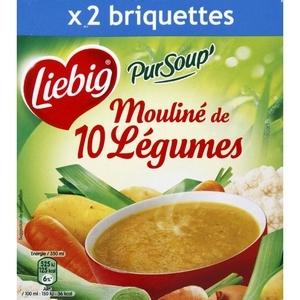 Liebig mouliné de 10 légumes 2x30cl