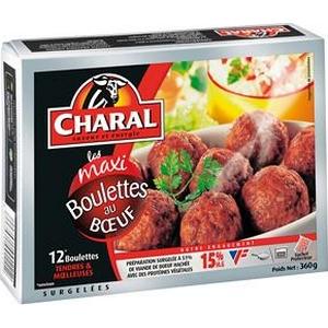 Charal Boulettes au bœuf x12 360g