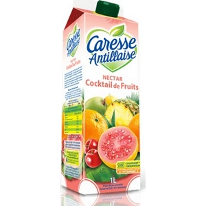 Caresse antillaise nectar cocktail de fruits 1l