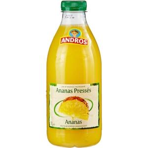 Andros jus d'ananas pressés 1l