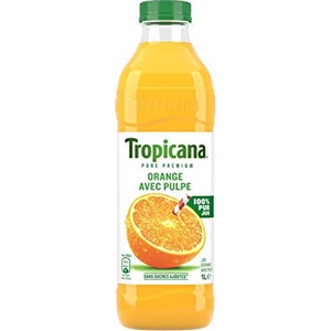 Tropicana jus d'orange avec pulpe 1l